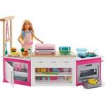 Mattel Barbie Cooking Baking Deluxe Küche Spielset Puppe