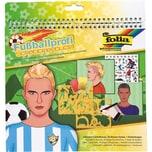 Folia Schablonenbuch Fußball inkl. Sticker