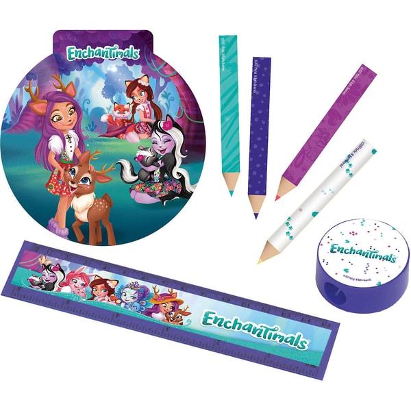 Amscan Schreibwaren-Set Enchantimals 16-Teilig