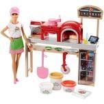 Mattel Barbie Cooking Baking Pizzabäckerin Puppe Spielset