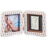 Baby Art Gipsabdruck Set mit 2-tlg. Bilderrahmen My Baby Touch Copper Edition Simple Ltd.Ed. 2018