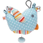 fashy Spieluhr Vogel weißblau
