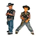 Funny Fashion Kostüm Cowboyweste little Deputy