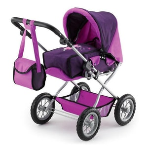 Bayer Kombi-Puppenwagen Grande lila