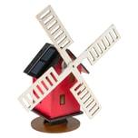 Nemmer Holz-Bausatz Solar-Windmühle