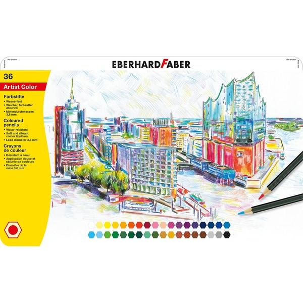 Eberhard Faber Buntstifte Artist Color 36 Farben