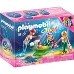 PLAYMOBIL® PLAYMOBIL® 70100 Familie mit Muschelkinderwagen