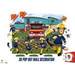Walltastic Wandsticker Fireman Sam 3D Pop Out Wall Decoration