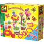 Ses Creative Knete Duftende Blumen Und Schmetterlinge
