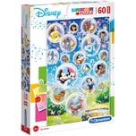 Clementoni Puzzle 60 Teile Maxi Disney Classic