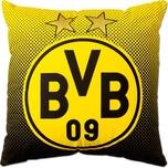 Borussia Dortmund BVB-Kissen mit Emblem 40x40cm