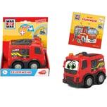Dickie Toys Was ist Was - Feuerwehr Buch Auto