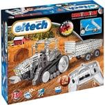 Eitech Metallbaukasten 2.4 GHZ RC Traktor mit Anhänger