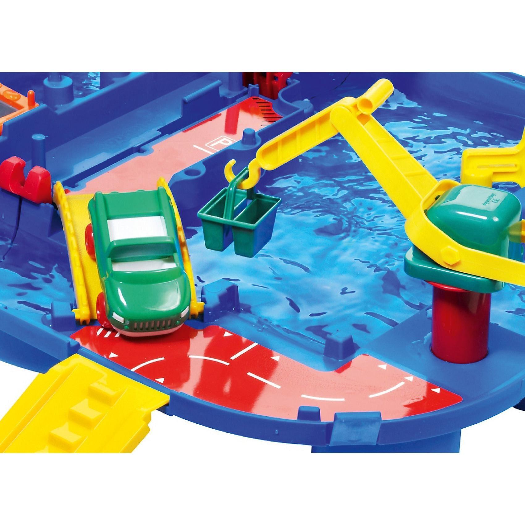 Aquaplay Tragbare Wasserbahn Lock Box 85x65cm