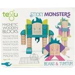 Tegu 5700609 Sticky Monsters Beans und Tumtum