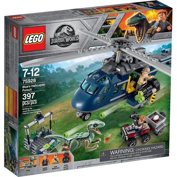 LEGO Jurassic World 75928 Blue's Hubschrauber Verfolgungsjagd