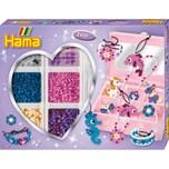 Hama Perlen HAMA 3709 Kreativbox Accessoires 2.400 midi-Perlen Zubehör
