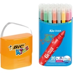BIC Kids Kid Couleur Filzstifte in Stiftebox 20 Farben