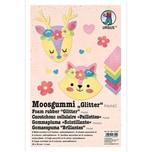 URSUS Moosgummi Glitter Pastell