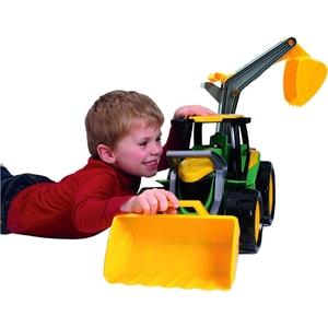 Lena Starke Riesen Traktor mit FrontladerBaggerarm 70 cm