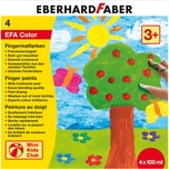 Eberhard Faber Mini Kids Fingermalfarbe 4 x 100 ml