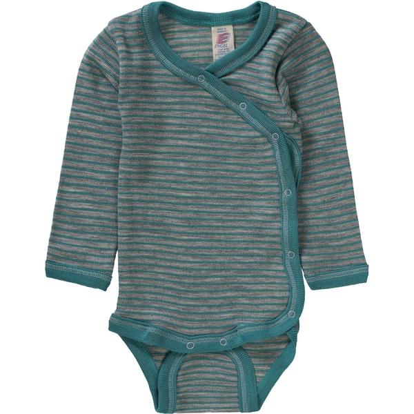 Engel Baby Wickelbody für Mädchen Wolle Seide