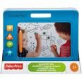 Mattel Fisher-Price Doodle Pro Stempel-Spaß blau Zaubertafel magnetische Maltafel