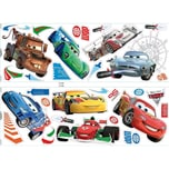 Decofun Wandsticker Cars 2 32-tlg.