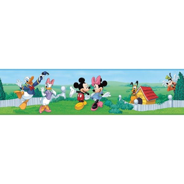 RoomMates Wandsticker Mickey & Friends Border 1-tlg.