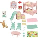 Epoch Traumwiesen Sylvanian Families Babyzimmer mit Figuren