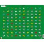 Larsen Rahmen-Puzzle 100 Teile 36x28 cm Zahlen 1-100