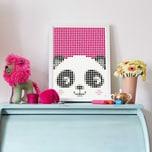 dot on art Kids panda 30 x 40 cm