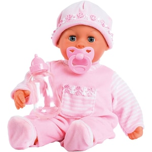 BAYER Babypuppe First words baby rosa 38 cm