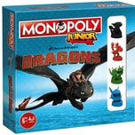 Winning Moves Monopoly Junior Dragons Collectors Edition
