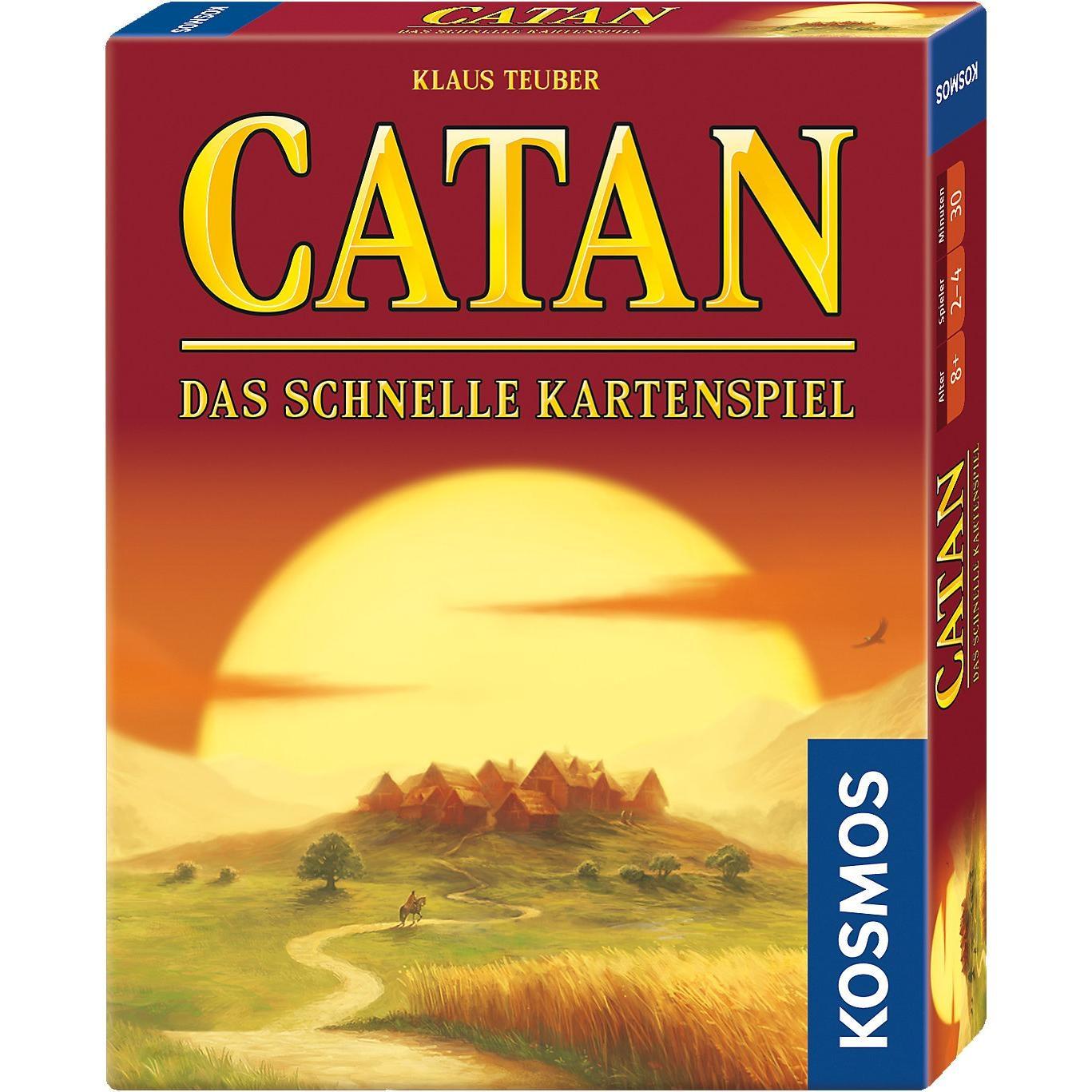 Kosmos Catan Das schnelle Kartenspiel