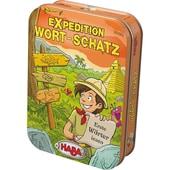 Haba Dosenspiel Expedition Wort-Schatz