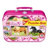 Schmidt Spiele Puzzle Box Pferde
