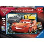 Ravensburger 2er Set Puzzle je 24 Teile 26x18 cm Abenteuer mit Lightning McQueen