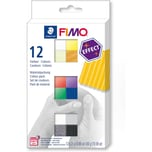 Staedtler Fimo effect Materialpackung 12 x 25 g