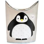 3 Sprouts Wäschekorb Pinguin 59 x 48 cm