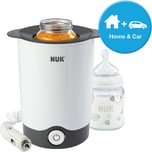 NUK Flaschenwärmer Thermo Express Plus inkl. Auto-Adapter