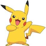 RoomMates Wandsticker Pokemon Pikachu Giant 12-tlg.