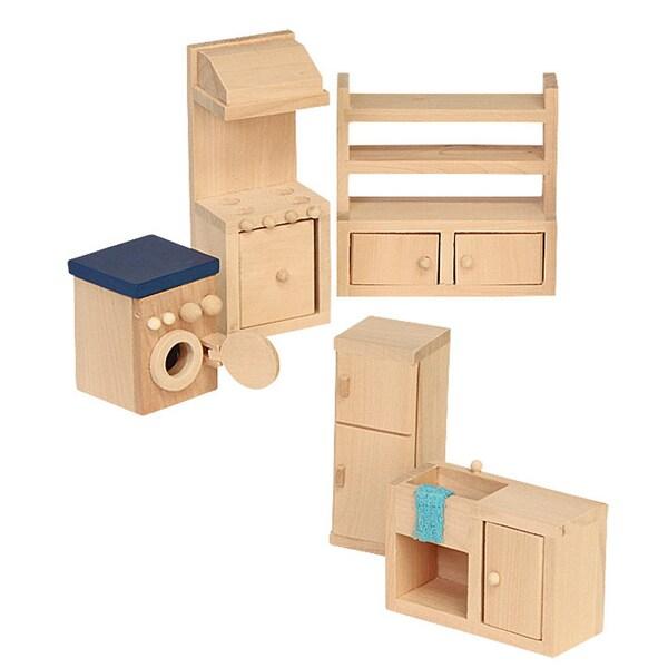 Beluga Puppenhausmöbel Küche Holz