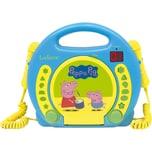 Lexibook Peppa Pig Kinder CD-Player mit 2 Mikrofonen