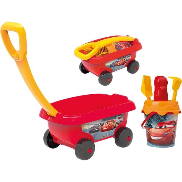 Smoby Cars Handwagen mit Eimergarnitur 6-tlg.