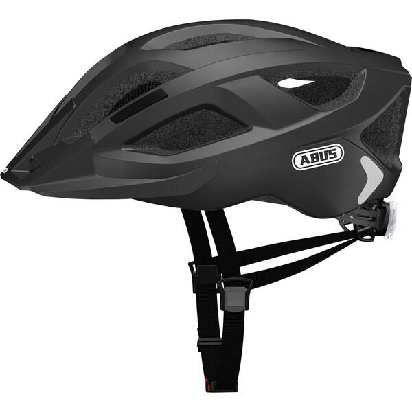 Abus Fahrradhelm Aduro 2.0 Velvet schwarz