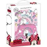 safta Geschenkset Schule Minnie Mouse Unicorn Dreams 3-tlg.