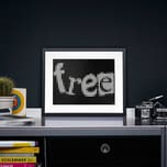 dot on dot on art - free 30 x 40 cm