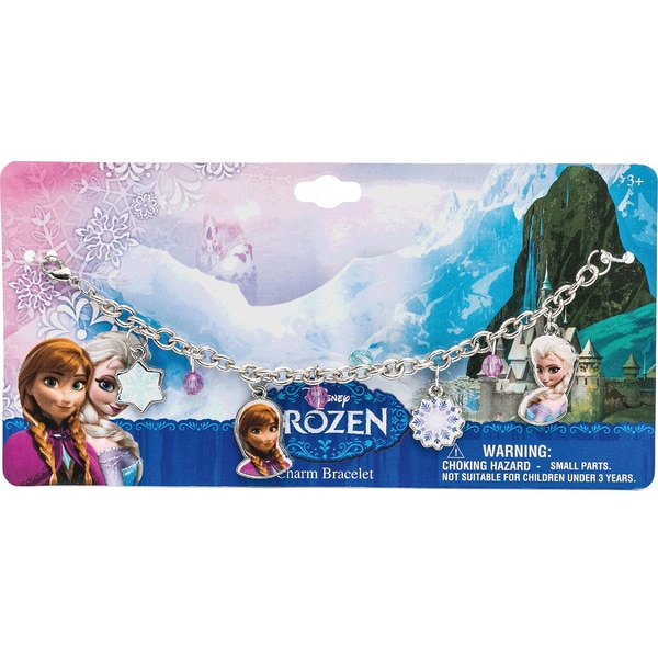 Joy Toy Armband in Metall mit Anhängern Disney Princess Frozen