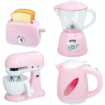 Playgo BLEND AND COOK APPLIANCES - PINK MY BOILING KETTLE BO MY BLENDER BO MY MIXER BO MY TOASTER